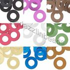 Lot of 20 Blank Aluminum Metal Flat 13mm Round Disc Scale Donut Drop Charm Beads