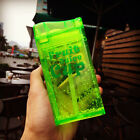 1PC New Stylish Square Bottle Sport Juice Water Cup Portable 200ML Travel Bottle