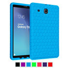 """Shock Proof Honey Comb Case Silicone Cover For Samsung Galaxy Tab E 9.6"""" Tablet"""