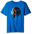 QUIUKSILVER Boys' 4-20 surf skate DEEP SCAPE BALL cotton SS tee 4 S M L NEW