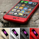 Kyпить NEW HYBRID 360° HARD ULTRA THIN CASE + TEMPERED GLASS COVER FOR IPHONE 5 6 7 7+ на еВаy.соm