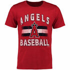 Majestic Threads Los Angeles Angels of Anaheim Red Exclusive T-Shirt