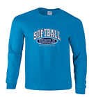 Softball Uncle and Proud of It Sports Fastpitch Long Sleeve T-Shirt