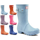 Womens Hunter Original Short Winter Rain Snow Wellies Waterproof Boots UK 3-9