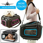 Airline Approved Collapsible Light Stow-Away Contoured Travel Pet Dog Carrier