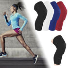 Crashproof Antislip Basketball Leg Knee Long Sleeve Protector Honeycomb Pad (NS)
