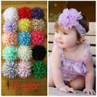 Kids Baby Girls Big Lace Flower Toddler Hair Band Headband Headwear Accessories