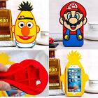 New Cartoon Super Mario pineapple Rubber soft case cover for iphone6 6S plus 5SE