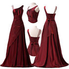 Elegant Long Evening Formal Party Ball Gowns Prom Wedding Bridesmaid Dress 6-16+