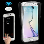 Shockproof 360° Silicone Protective Clear Case Cover For Samsung Galaxy S6 Edge