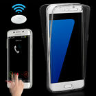 Shockproof 360° Silicone Protective Clear Case Cover For Samsung Galaxy S7 G930