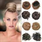 2pcs New Synthetic Fiber Dish Hair Bun Tray Ponytail Extension Hair Piece Wig