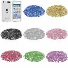 Clear Crystal Hard Case + 400pcs Bling DIY Gem Deco For iPod Touch 5 5th Gen