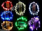 10 sets of 20 LED Battery Fairy Lights in choice of 9 COLOURS and 2 WIRE TYPES!