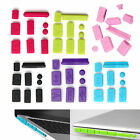 New Silicone Anti Dust Plug Ports Cover Set For Macbook 15 air 11 13 Retina X