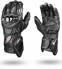 Ultimate Protective Carbon Kevlar Gloves Analine Leather