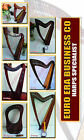 Irish String Lever Harp Finest Rosewood,Tutor Book,Extra Strings.Key & Bag