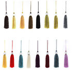 2Pcs Silky Tassels Pendant Sewing  DIY Craft Supply Curtain Drapery Deco