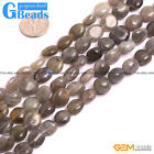 8x10mm Natural Freeform Nugget Gemstone Loose Beads For Jewelry Making Strand 15