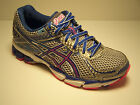 ASICS GT-1000 2 Womens Shoes Running Size 5 D Wide Width Blue Silver Pink  NEW