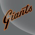 Vintage Style Sf San Francisco Giants Decal Sticker - 3 Inch To 12 Inch