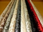 """Bling"" Crushed Velvet  Fabric -  Ideal For Curtain Upholstery Cushions Blinds"