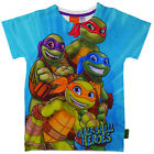 Kids Official Teenage Mutant Ninja Turtles Half Shell Heroes Short Sleeve Tshirt