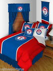 Texas Rangers Comforter Sham & Sheet Set Twin Full Queen King Size