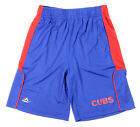 Majestic MLB Youth Chicago Cubs Batters Choice Shorts, Blue
