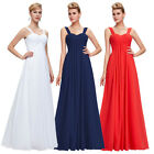 Maternity New Long Formal Evening Party Ball Gown Prom Bridesmaid Wedding Dress
