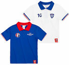 Boys Official UEFA Euros 2016 Polo New Kids Football T-Shirt Ages 4-10 Years