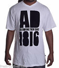 Artful Dodger Men's $40 1816 Destroy White V Neck Tee Shirt Size XL