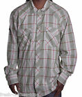 Artful Dodger Button Up Shirt Mens $68 Olive Green Plaid Woven Choose Size