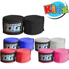 KIDZ  PAIR OF WRAPS FOR MMA KICKBOXING SPORTS TRAINING 1.5m