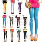 Colorful Milk Silk Women's Lady Casual Leggings Skinny Pant Tight Trousers M-L