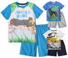 Boys Disney The Jungle Book Pyjamas New Kids Short Sleeved PJ Set Ages 4-10 Yrs