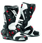 SIDI VORTICE WHITE BLACK MOTORCYCLE RACING TRACKDAY SPORTS BIKE MOTORCYCLE BOOTS