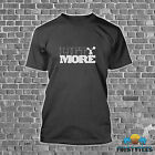 """100% COTTON """"LIFT MORE"""" WEIGHTLIFTING POWERLIFTING BODYBUILDING MENS T-SHIRT NEW"""