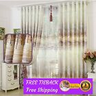Custom Blackout Beige Cream Sheer Drapes Curtains Fabric Eyelets Pleats Blockout