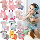 """44 Style"" Vaenait Bab​y Kids Girls Pyjamas Short Sleepwear Clothes set 12M-7T"
