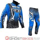 Wulf Arena Cub Blue Trials Kit Wulfsport Junior Kids Dirt Bike Top & Pants Set