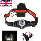 1/2/4 UK 800LM 2 Mode Q5 LED Headlight Lampe frontale Lumière phare Vélo Camping