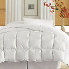 233 TC Cotton Twill Cover Down Alternative Comforter White