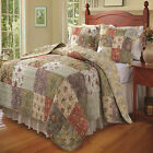 Greenland Home Blooming Prairie Quilt & Sham Set, Twin, Full/Queen Or King