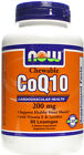 NOw FOods CoQ10, 200mg (Chewable) - 90 lozenges - Supports Healthy Heart Muscle