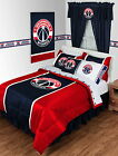 Washington Wizards Comforter Sham & Valance Set Twin Full Queen King Size