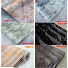 10x0.6m Roll Marble Stone Stripes Vinyl Wallpaper Sticker Toilet & Kitchen Decor