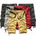 Mens Summer Military Army Combat Trousers Tactical Work Pocket Pants Shorts