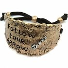 WESTERN HAMMERED PLATE LOVE TEXAS STATE LEATHER CUFF BRACELET