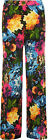 Womens Floral Print Wide Leg Flared Palazzo Pants Ladies Flower Trousers 8-14